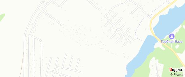Нижняя улица на карте садового некоммерческого товарищества Яблоньки с номерами домов