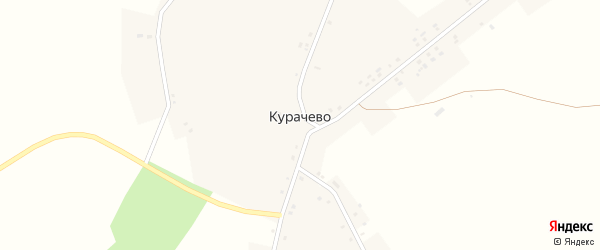 Улица Ленина на карте деревни Курачево с номерами домов