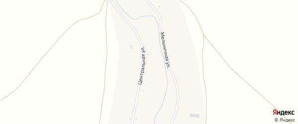 Центральная улица на карте села Ежовки с номерами домов