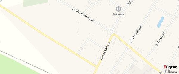 Улица Шаймуратова на карте деревни Улукулево с номерами домов