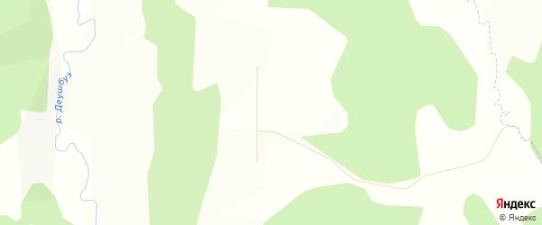 Карта деревни Аркаула в Башкортостане с улицами и номерами домов