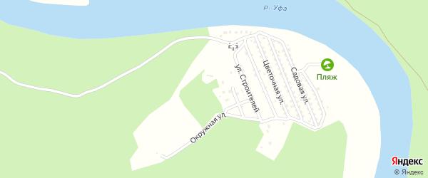 Территория Уфанефтехим на карте Уфы с номерами домов
