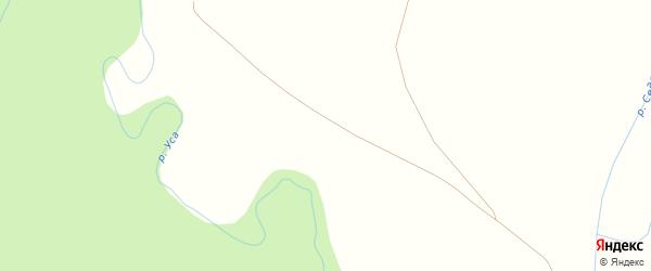 Северная улица на карте деревни Михайловки с номерами домов