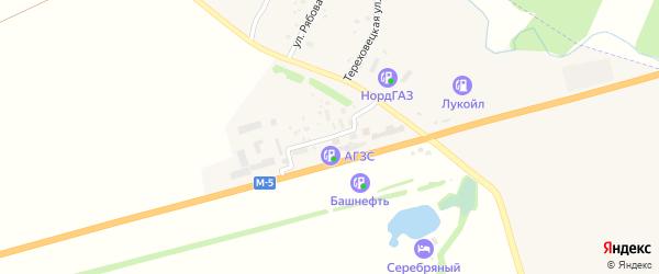 Улица ДРСУ-1 на карте села Алаторка с номерами домов