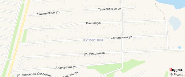 Соловьиная улица на карте села Иглино с номерами домов
