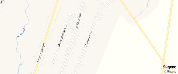 Полевая улица на карте Петровского села с номерами домов