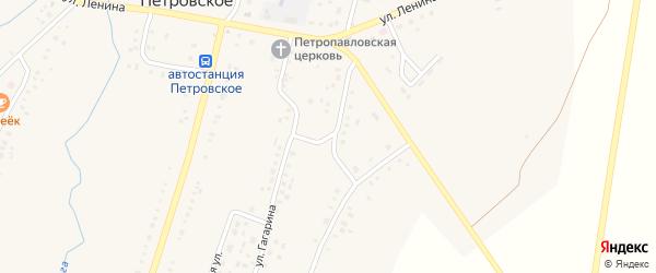 Уральская улица на карте Петровского села с номерами домов