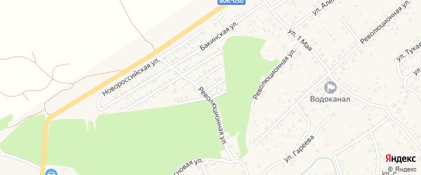 Улица Воронцова на карте села Иглино с номерами домов