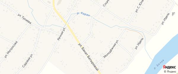 Социалистическая улица на карте села Новые Киешки с номерами домов