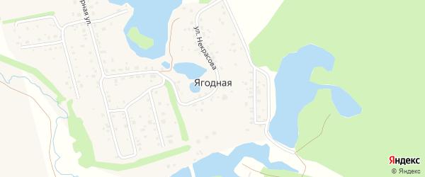 Улица Мифтахова на карте Ягодной деревни с номерами домов
