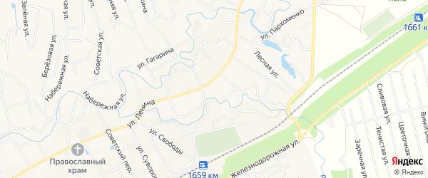 Карта села Иглино в Башкортостане с улицами и номерами домов