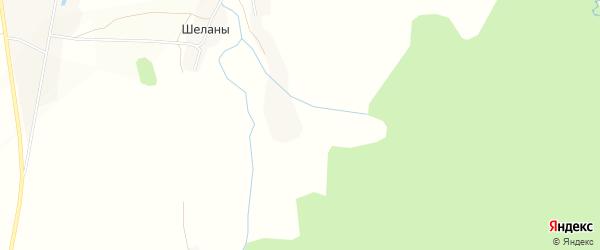 Карта деревни Шеланы в Башкортостане с улицами и номерами домов
