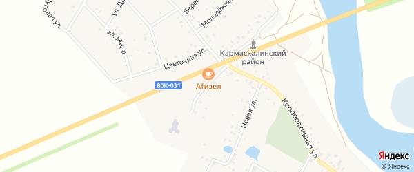 Новая улица на карте деревни Старошареево с номерами домов