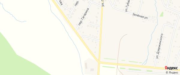 Гвардейская улица на карте села Красноусольского с номерами домов