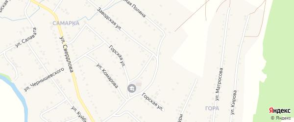 Улица Пархоменко на карте села Красноусольского с номерами домов