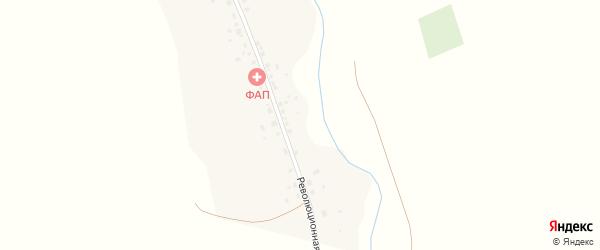 Революционная улица на карте деревни Аралбая с номерами домов