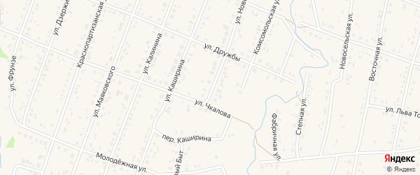 Улица Новый Быт на карте села Красноусольского с номерами домов