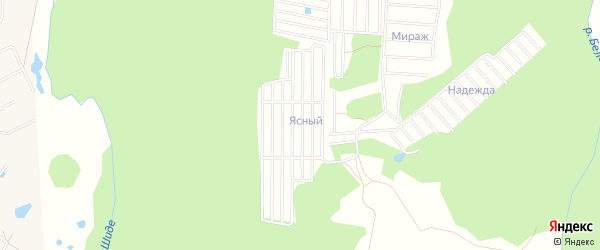 СНО Строитель-з на карте Иглинского района с номерами домов