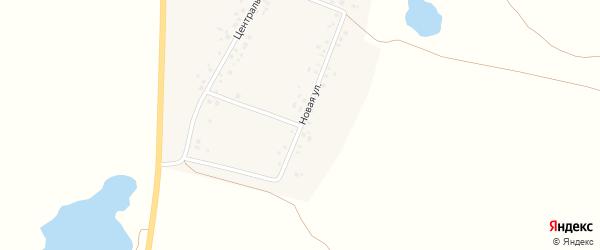 Новая улица на карте села Уктеево с номерами домов