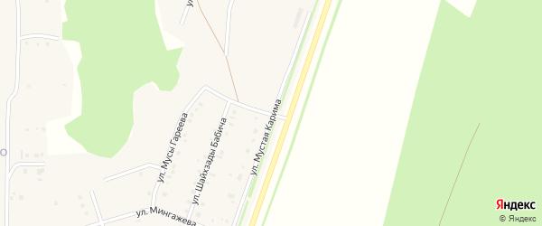 Новая улица на карте села Красноусольского с номерами домов