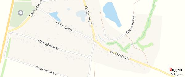 Улица Гагарина на карте села Байгильдино с номерами домов