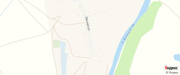 Лесная улица на карте села Исимово с номерами домов