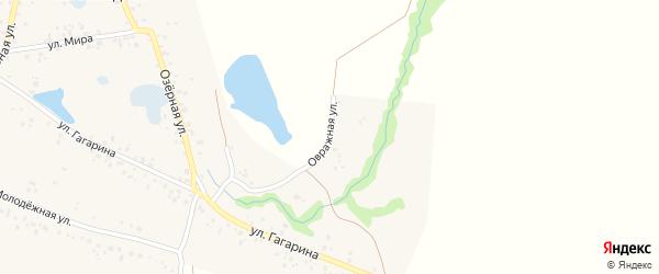 Овражная улица на карте села Байгильдино с номерами домов