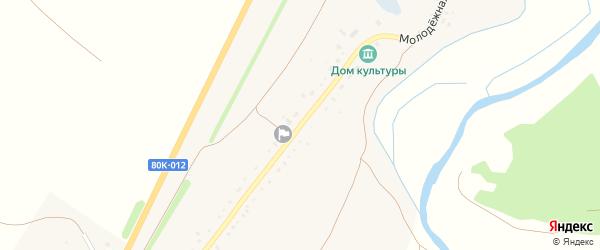 Молодежная улица на карте Новониколаевского села с номерами домов