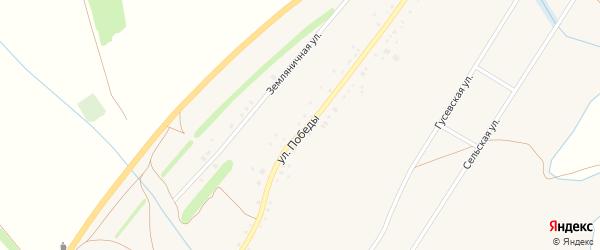 Улица Победы на карте Новониколаевского села с номерами домов