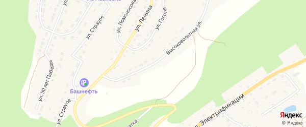 Высоковольтная улица на карте села Павловки с номерами домов