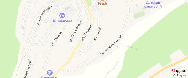 Улица Гоголя на карте села Павловки с номерами домов