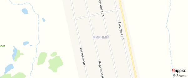 Родниковая улица на карте села Аскино с номерами домов