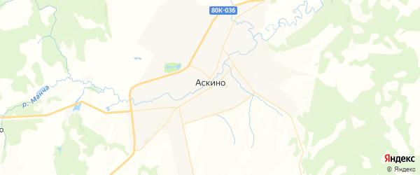 Карта Мутабашевского сельсовета республики Башкортостан с районами, улицами и номерами домов