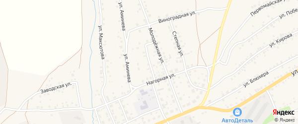 Улица Л.Толстого на карте села Мраково с номерами домов