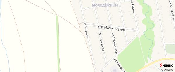 Улица Ягудина на карте села Мраково с номерами домов