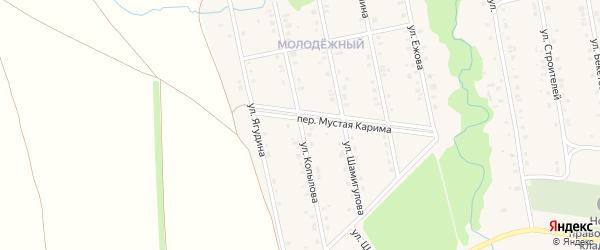 Улица Копылова на карте села Мраково с номерами домов