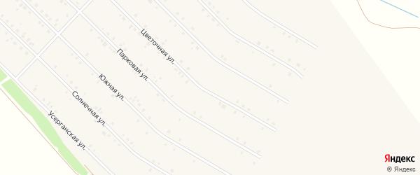 Цветочная улица на карте села Исянгулово с номерами домов