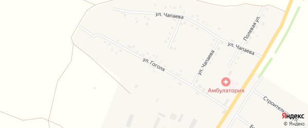 Улица Гоголя на карте села Новокулево с номерами домов