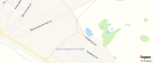 Озерная улица на карте села Аскино с номерами домов