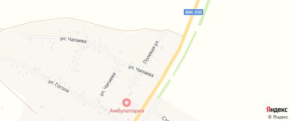 Полевая улица на карте села Новокулево с номерами домов