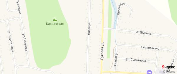 Новая улица на карте села Мраково с номерами домов