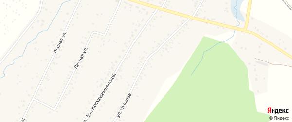 Улица Чкалова на карте села Тавтиманово с номерами домов