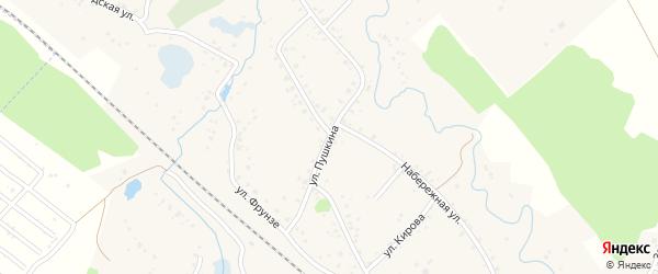 Советская улица на карте села Тавтиманово с номерами домов