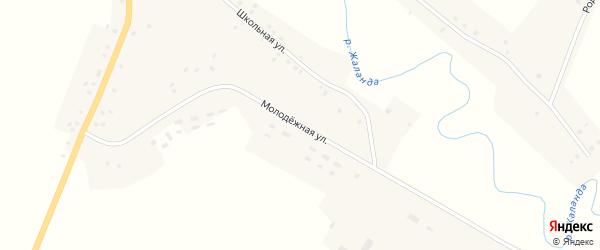 Молодежная улица на карте села Старокулево с номерами домов