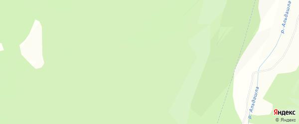 СНТ Пчелка на карте Гафурийского района с номерами домов
