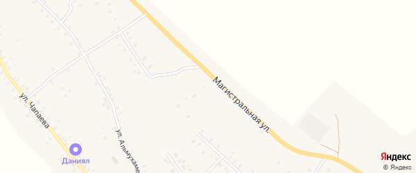 Магистральная улица на карте села Красной Горки с номерами домов