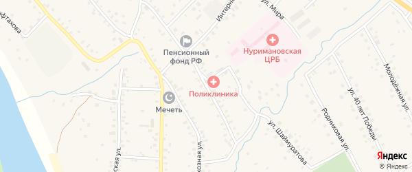 Улица Кирова на карте села Красной Горки с номерами домов