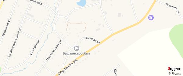 Пролетарская улица на карте села Красной Горки с номерами домов