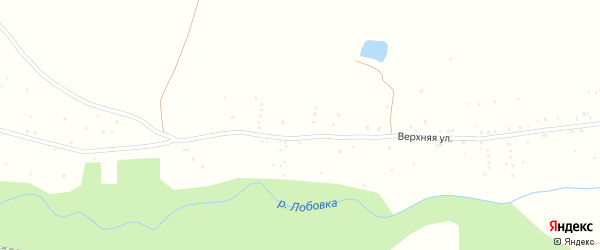Улица Брома на карте деревни Новотроицкого с номерами домов