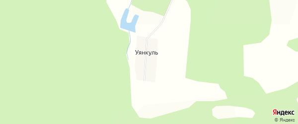 Карта деревни Уянкуля в Башкортостане с улицами и номерами домов